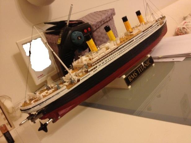 Kendin Yap, rc titanic yapimi, www.kendinyapsitesi.com