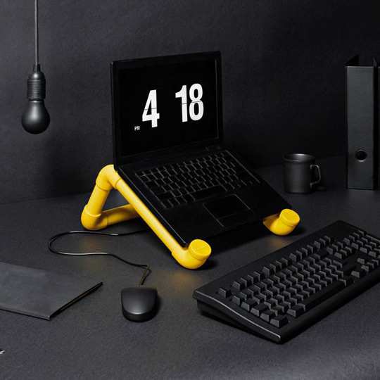 PVC boru ile laptop masasi yapimi : www.KendinYapSitesi.com
