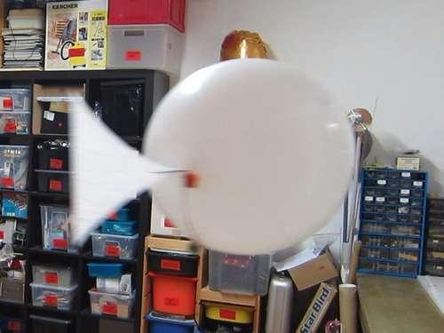 Havada yüzen uzaktan kumandali balik yapimi : www.KendinYapSitesi.com