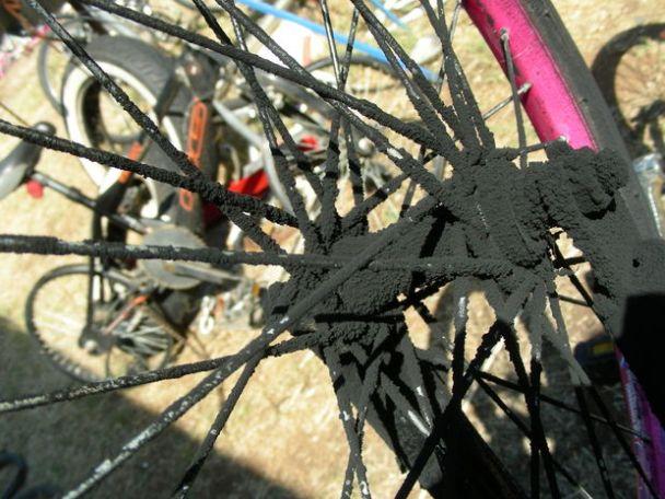 Kendin Yap, Disli bisiklet lastiginden dissiz, düz (slick) lastik yapimi, www.kendinyapsitesi.com