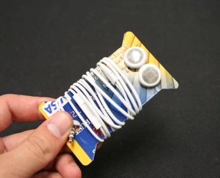 Kredi kartindan kulaklik organizatörü yapimi : www.KendinYapSitesi.com
