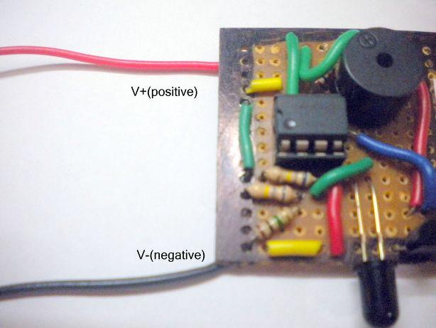 Kendin Yap, Kizilötesi sinyal ile çalisan hirsiz alarmi, www.kendinyapsitesi.com