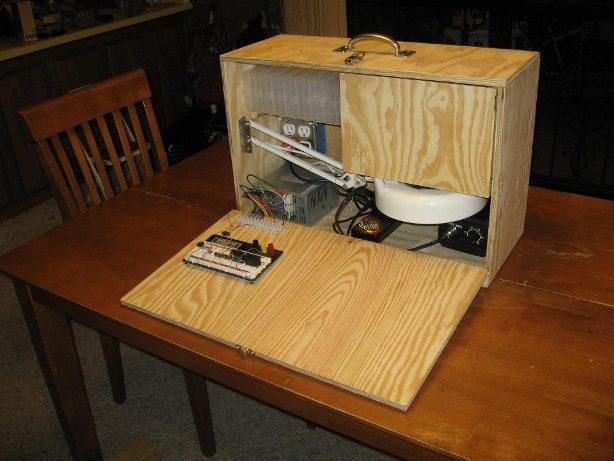 Kendin Yap, Elektronik laboratuar çantasi yapimi, www.kendinyapsitesi.com
