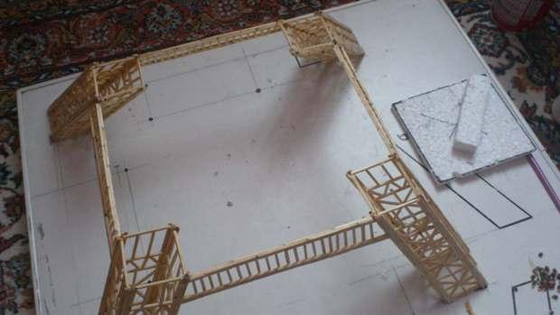 Kendin Yap, Kibritlerden Eyfel Kulesi yapma, www. kendinyapsitesi. com