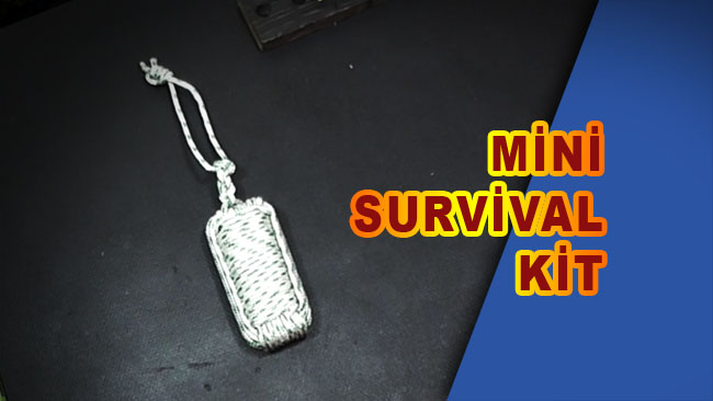Paracord ip ile mini survival kit yapımı