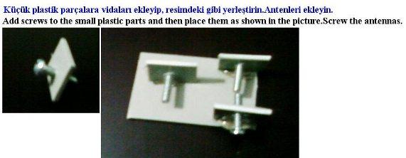 Anten tripod : www.KendinYapSitesi.com